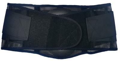 ERGODYNE ProFlex 1051 Mesh Back Supports, 2X-Large, Black
