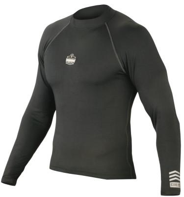 ERGODYNE CORE Performance Work Wear 6435 Shirts, Black, Large