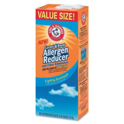 ARM & HAMMER Carpet & Room Allergen Reducer and Odor Eliminator, 42.6 oz Box