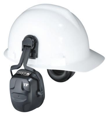 HOWARD LEIGHT BY HONEYWEL Thunder Earmuffs, 27 dB NRR, Black, Cap Attached