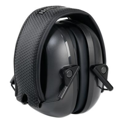 HOWARD LEIGHT BY HONEYWEL VeriShield™ 100 Series Passive Earmuffs, VS110F, 24 NRR, Black