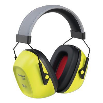 HOWARD LEIGHT BY HONEYWEL VeriShield™ 130 Series Passive Earmuffs, VS130HV, 30 NRR, Hi-Viz Yellow