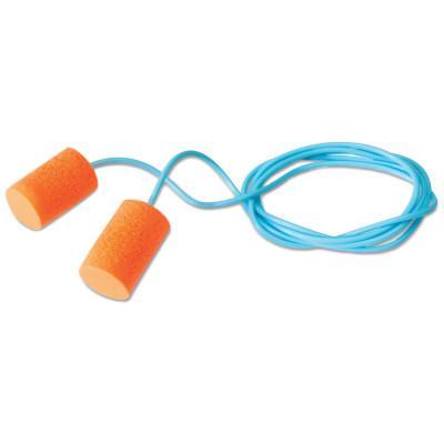 HOWARD LEIGHT BY HONEYWEL FirmFit Earplugs, Foam, Orange, Corded
