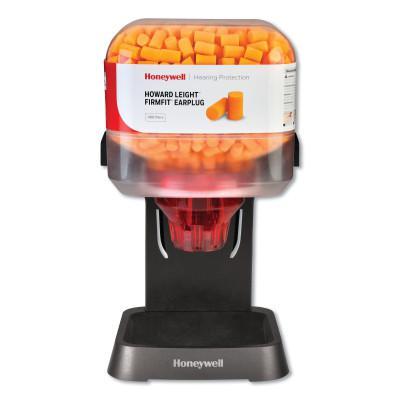 HOWARD LEIGHT BY HONEYWEL HL400 Earplug Dispenser, Starter Kit, Orange, FirmFit