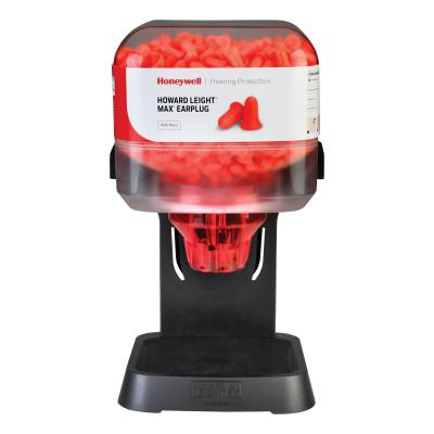HOWARD LEIGHT BY HONEYWEL HL400 Earplug Dispenser, Starter Kit, Coral, MAX