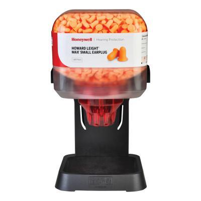 HOWARD LEIGHT BY HONEYWEL HL400 Earplug Dispenser, Starter Kit, Dreamsicle Orange, MAX Small