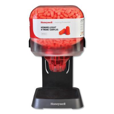 HOWARD LEIGHT BY HONEYWEL HL400 Earplug Dispenser, Starter Kit, Orange, X-TREME