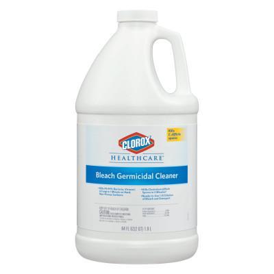 CLOROX Hospital Cleaner Disinfectant w/Bleach, 2qt Refill