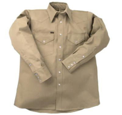 LAPCO 950 Heavy-Weight Khaki Shirts, Cotton, 22-39 X-Long