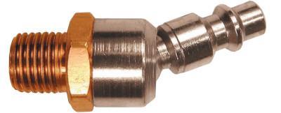 COILHOSE PNEUMATICS Ball Swivel Connectors, 1/4 in (NPT) M