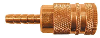 COILHOSE PNEUMATICS Coilflow Industrial Interchange Couplers, 1/4 Hose Barb
