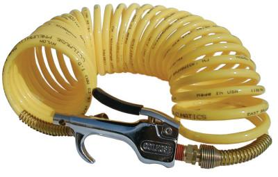 COILHOSE PNEUMATICS Safety Blow Gun & Nylon Recoil Assemblies