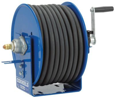 COXREELS Challenger Hand Crank Welding Cable Reels, 165 ft, 2/0 AWG