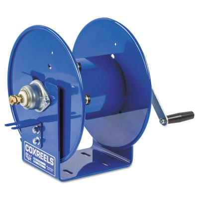 COXREELS Challenger Hand Crank Welding Cable Reels, 100 ft, 1/0 AWG, Hand Crank Cable