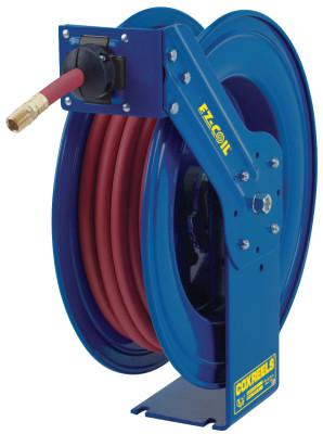 COXREELS EZ-Coil Heavy Duty Safety Reels, 1/2 in