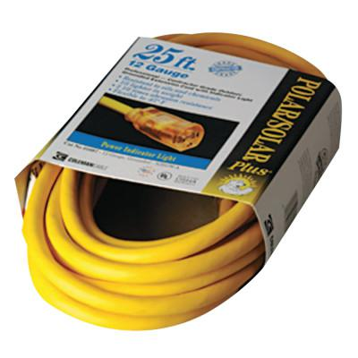 SOUTHWIRE Polar/Solar Extension Cord, 25 ft