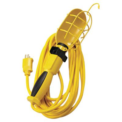 SOUTHWIRE 50' YELLOW POLAR/SOLAR TROUBLE LIGHT W/METAL GUA