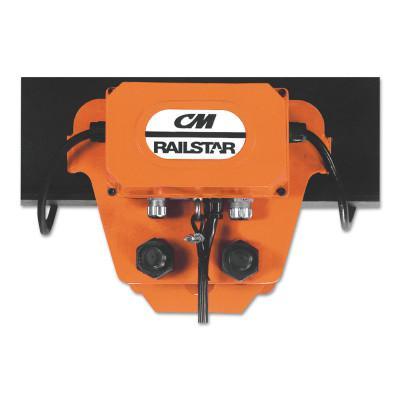 CM COLUMBUS MCKINNON 1/8-2 TON RAILSTAR MOTORDRIVEN TROLLY
