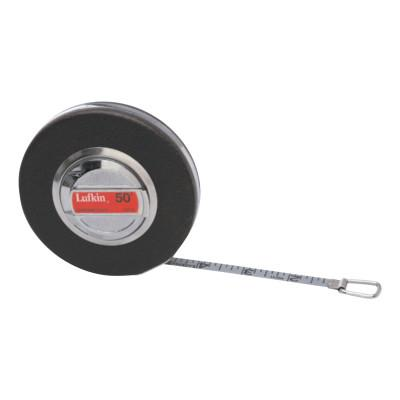 LUFKIN Anchor Measuring Tapes, 3/8 in x 100 ft, 1/16 in
