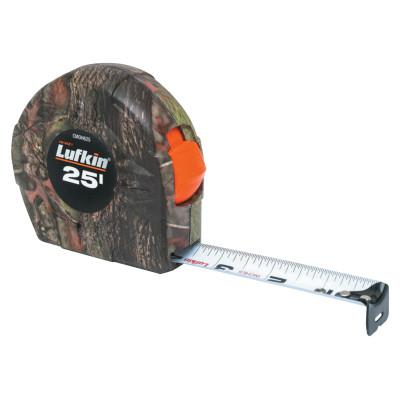 LUFKIN Camo Tape Measures, 1 in x 25 ft