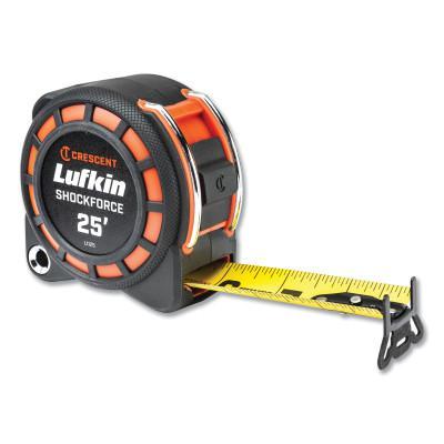 """LUFKIN Shockforce Tape Measure, 25'x1-3/16"""""""