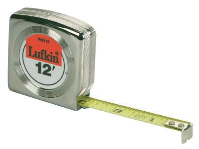 LUFKIN Mezurall Measuring Tapes, 3/4 in x 12 ft, A2 Blade