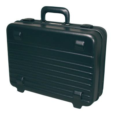 XCELITE Attache Tool Case, 17 3/4 in x 5 3/4 in, Polyethylene, Black