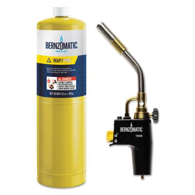 BERNZOMATIC SureFire™ Self Igniting Torch Kit, Torch; Cylinder, MAPP