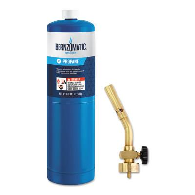 BERNZOMATIC Basic Pencil Flame Torch Kit, 14.1 oz. Propane Cylinder; UL2317 Torch