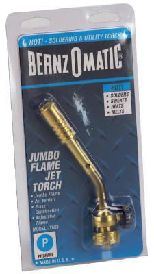 BERNZOMATIC Jumbo Flame Torch, Soldering; Heating, Propane