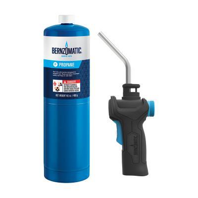 BERNZOMATIC Multi-Use Torch Kit, 14.1 oz Propane Cylinder;TS3500 Torch