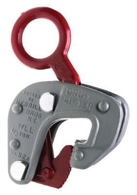CAMPBELL No. 52 Single Drum Lifters, 1,000 lb WWL, 7/8 in Grip