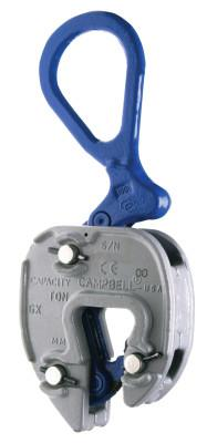 CAMPBELL GX Clamps, 3 tons WWL, 1 in-1 3/4 in Grip