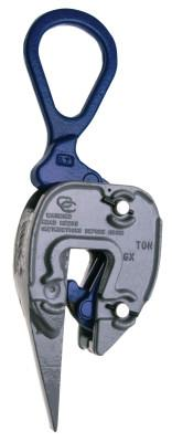 CAMPBELL GX Style Sharp Leg Clamps, 1/2 ton WWL, 1/16 in-5/8 in Grip
