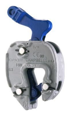 CAMPBELL GX Style Chain Connector Clamps, 1 ton WWL, 1/16 in-3/4 in Grip
