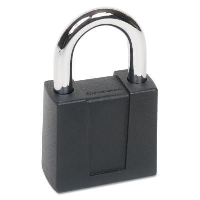 CCL Sesamee  Keyless Padlocks, 5/16 in Diam., 1 in L X 1 in W, Black