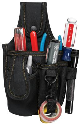 CLC CUSTOM LEATHER CRAFT Tool and Cell Phone Holders, 4 Compartments, Polyester