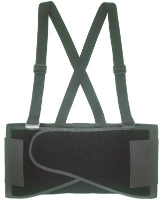 CLC CUSTOM LEATHER CRAFT Elastic Back Support Belts, Large, Black