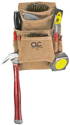 CLC CUSTOM LEATHER CRAFT 10 Pocket Carpenter's Nail & Tool Bag