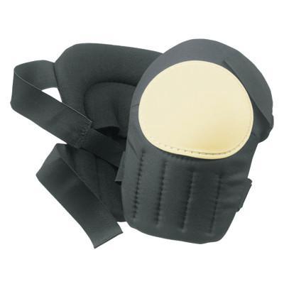 CLC CUSTOM LEATHER CRAFT Plastic Cap Swivel Kneepads, Hook and Loop, Black/White