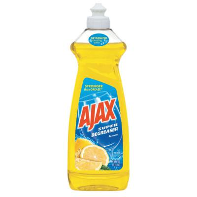 AJAX Dish Detergent, Lemon Scent, 28 oz Bottle