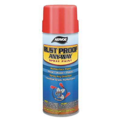 AERVOE Any-Way RustProof Enamels, 12 oz Aerosol Can, John Deere Green, High-Gloss