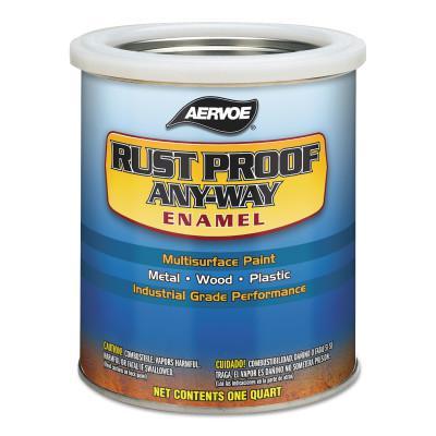 AERVOE Any-Way RustProof Enamels, 1 qt Can, John Deere Green, High-Gloss