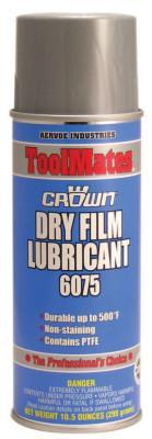 CROWN Dry Film Lubricants, 16 oz Aerosol Can