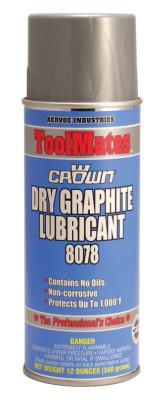 CROWN Dry Graphite, 12 oz Aerosol Can