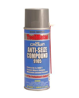 CROWN Anti-Seize Compounds, 16 oz Aerosol Can, Black