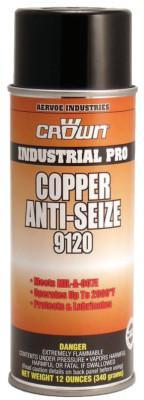 CROWN Anti-Seize Compounds, 16 oz Aerosol Can, Copper