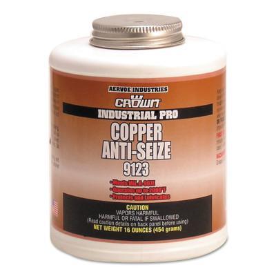 CROWN Anti-Seize Compounds, 1 lb Brush Top Bottle