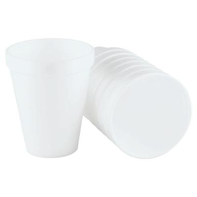 DART Foam Cups, 10 oz, White