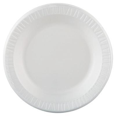 DART Quiet Classic Laminated Dinnerware, 10 1/4 in, White